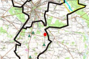 Gmina Skierniewice Mapa