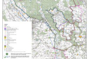 Bolimowski Park Krajobrazowy mapa